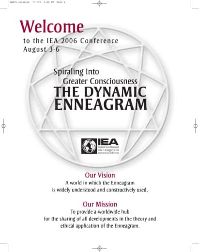 Intercultural Competence and the Enneagram – IEA Nine Points