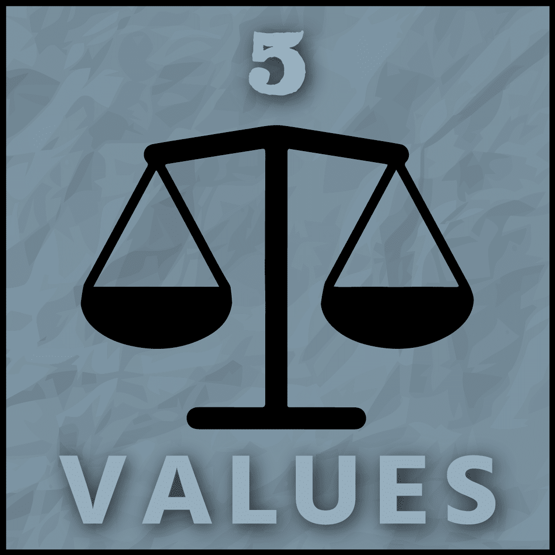 The value of values | type 5 — IEA Nine Points