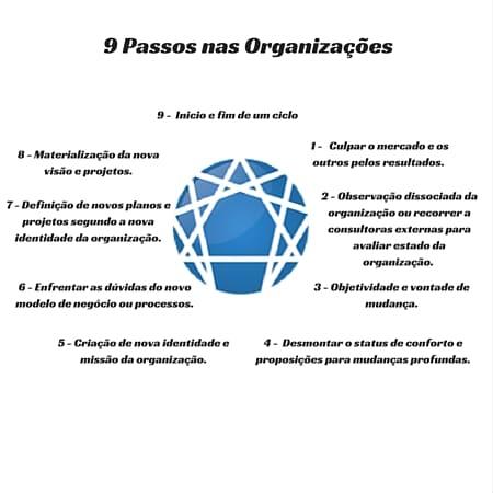 9 Passos nas Organizacoes